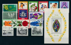 West Germany Berlin 1976 Complete Year Set MNH
