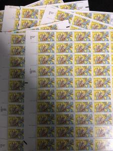 US Scott #C117 New Sweden Airmail. 10 Full Sheet MNH.  Free Shipping.