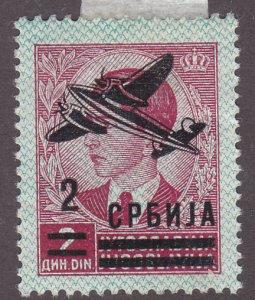 Serbia 2NC16 Prince Peter O/P 1942