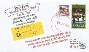 VERY LAST 26 JUN '64 The Beatles World Tour Play Dunedin, Australia #5of5 Cover