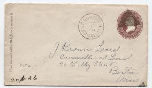 1880s West Northfield MA fancy triangle cancel [4260.4]
