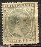 Philippines; 1892: Sc. # 150: *-/MHH Single Stamp