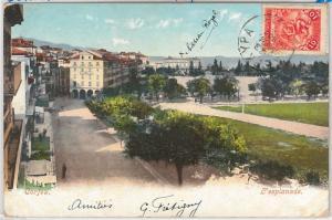 GREECE --  POSTAL HISTORY - POSTCARD - OLYMPIC GAMES 1907  Corfu