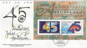 United Nations Geneva 190  FDC   Geneva Cachet