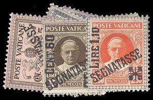 VATICAN CITY J1-6  Mint (ID # 93602)