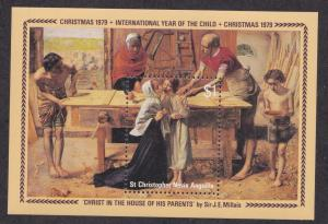 St. Kitts - Nevis # 392, Christmas - Year of the Child, NH 1/2 Cat.