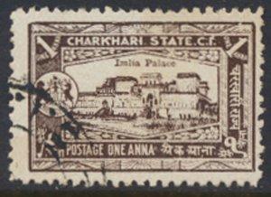 Charkhari State  1931    1A   Imlia Palace  Used see scan