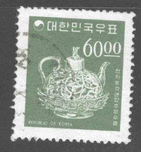 Korea Scott 524 Used tea pot stamp