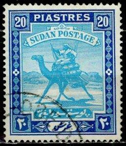 Sudan 1927: Sc. # 50a; O/Used Single Stamp