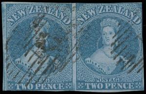 New Zealand Scott 5 Gibbons 5 Used Stamp