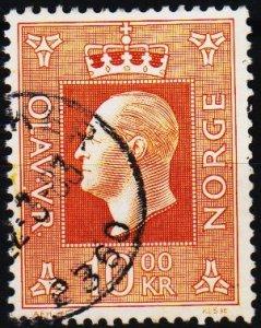 Norway. 1969 10k S.G.636  Fine Used
