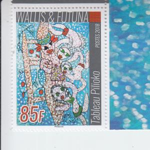 2017 Wallis & Futuna Art by Pilioko (Scott NA) MNH