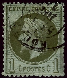 France Sc #29 Used VF SCV$20...French Stamps are Iconic!
