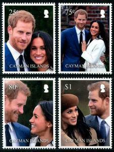 HERRICKSTAMP NEW ISSUES CAYMAN Royal Wedding Prince Harry