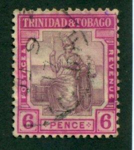 Trinidad & Tobago 1921 #18 U SCV (2018)=$19.00