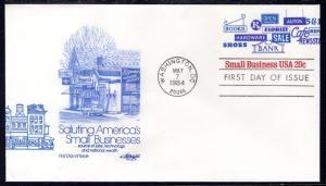 US U606 Small Business Artmaster U/A FDC