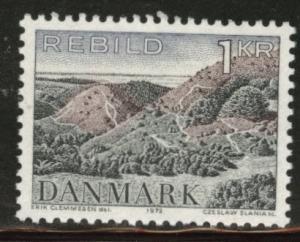 DENMARK  Scott 492 MNH** 1972 Rebild Hills stamp