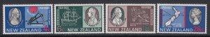 New Zealand, Sc 431-434, MNH
