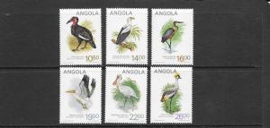 Birds - Angola #683-688  MNH