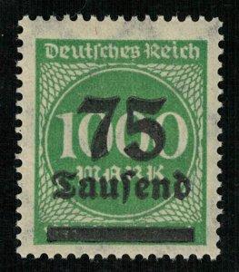 Deutsches Reich, 75000/1000 Mark, Germany (3524-T)