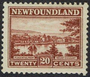 NEWFOUNDLAND 1923 PICTORIAL 20C