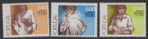 PORTUGAL SG1633/5 1976 WORLD HEALTH DAY MNH