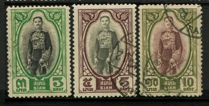 Thailand SC# 218-220, Used, 220 some toning - S13243