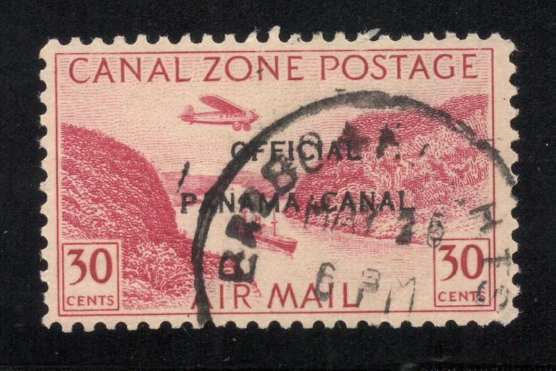 CZ#CO5 Air Post Official - Used - (Without Overprint, Postally Used)