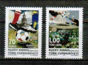 2012 - TURKISH CYPRUS - EURO - FOOTBALL -UMM