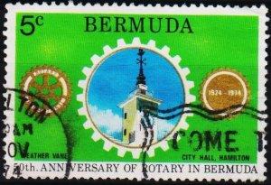 Bermuda. 1974 5c S.G.320 Fine Used