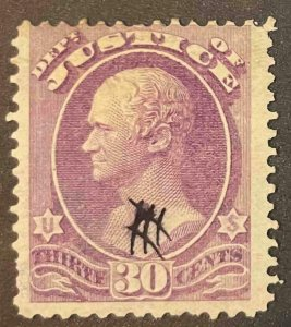 US Stamps #O33 Used Official #O33A132