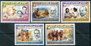 1977 Mauritania 563-567 Nobel Laureates 10,00 €