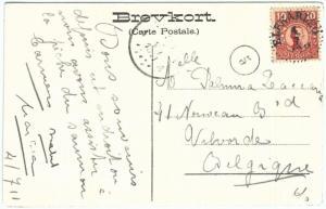 70126 - SWEDEN - POSTAL HISTORY - POSTCARD to BELGIUM 1911