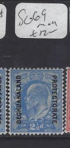BECHUANALAND   (P2110B)  KE  ON GB  2 1/2D   SG 69   MOG