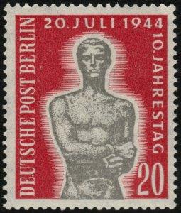 ✔️ GERMANY BERLIN 1954 - ASSASSINATION ANNIV. - SC. 9N107 ** MNH [GEB119]