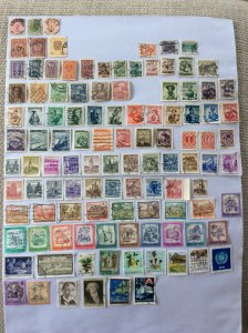 Austrian 100+ stamps - Lot B