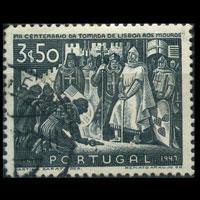 PORTUGAL 1947 - Scott# 688 Surrender 3.5e Used