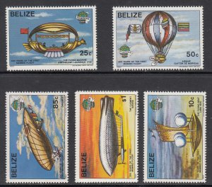 Belize Scott #672-677 MNH