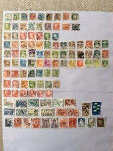Denmark 100+ stamps - Lot F