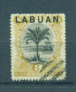 Labuan sc# 51 postally used cat value $21.00
