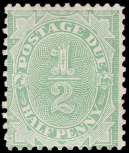 Australia Scott J29, perf. 11.5x11 (1907) Mint LH F-VF, CV $37.50 M