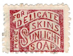 (I.B) New Zealand Postal : Adson (Sunlight Soap)