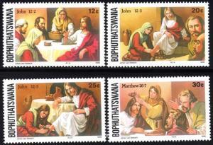 Bophuthatswana - 1986 Easter Set MNH** SG 168-171