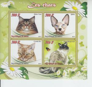2015 Benin Domestic Cats MS4 (Scott NA)