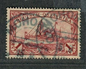 German East Africa Sc#19 Used/VF-EF, Unwmk, Cv. $47.50