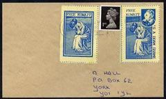 Cinderella - 1991 cover with blue on yellow 'Free Kuwait'...