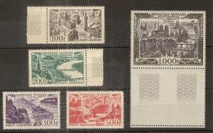 France 1949 Airs Cities SG1055-1059 MNH Cat£350