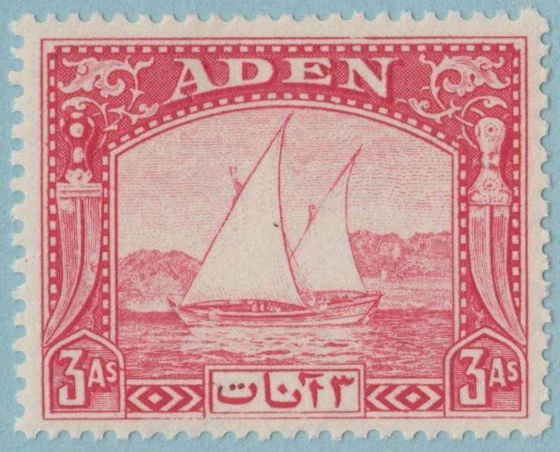 ADEN 6 MINT HINGED * OG NO FAULTS EXTRA FINE !