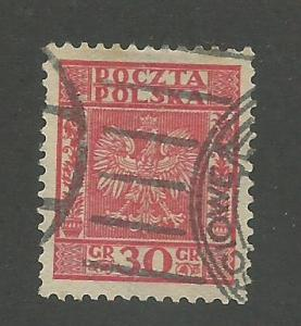 1932 Poland Scott Catalog Number 273 Used