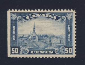Canada Grand Pre stamp #176-50c Mint No gum SE F/VF Guide Value = $150.00